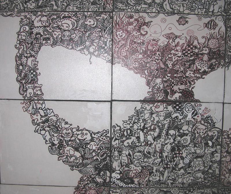迷藏系列漫客熊插画6